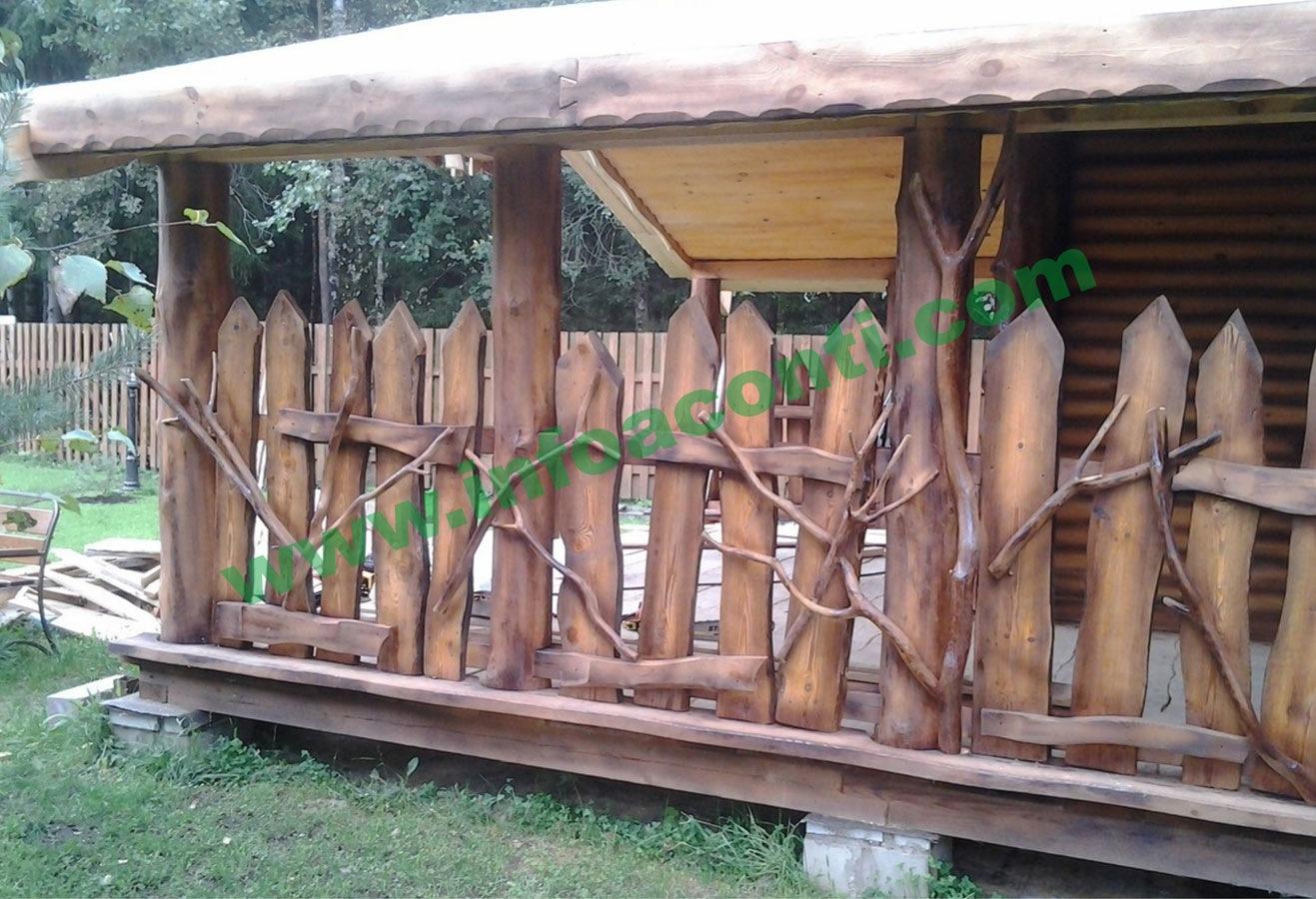 Деревянный забор под старину своими руками